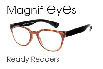 Magnifeyes ready readers with Regular Lenses
