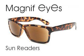 magnifeyes Sun Readers
